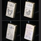 100pcs/lot classi many style chooes Windproof lighter isqueiro as christmas gift cigarette ciga