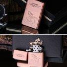 100pcs/lot Cool Kerosene Oil Lighter Classic Designs Repeated Cigarette grinding cigarettes Lig