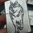 MY wholesale Ancient silver  Brand  lighter  wolf BC4176
