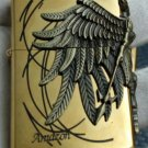 wholesale 3pcs/lot gold  warrior wing  brand  lighters  BC4179