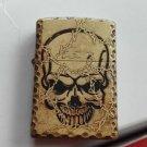 Wind new kerosene lighter Han edition chisel edge antique copper skulls in the thorns The dev