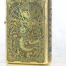 ZQ wholesale  Brand  lighter Genuine  Five carved brave dragon BC4288