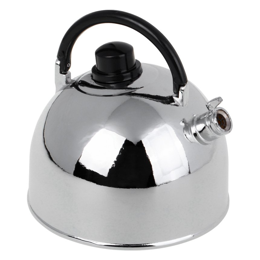 Fashion Classic Metal Kettle Type Windproof Lighter Torch Jet Flame Refillable Red Flame Inflat
