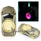Man Watch Sportscar Style With LED Green Flame Windproof Cigarette Cigar Butane Gas Lighter BC4415
