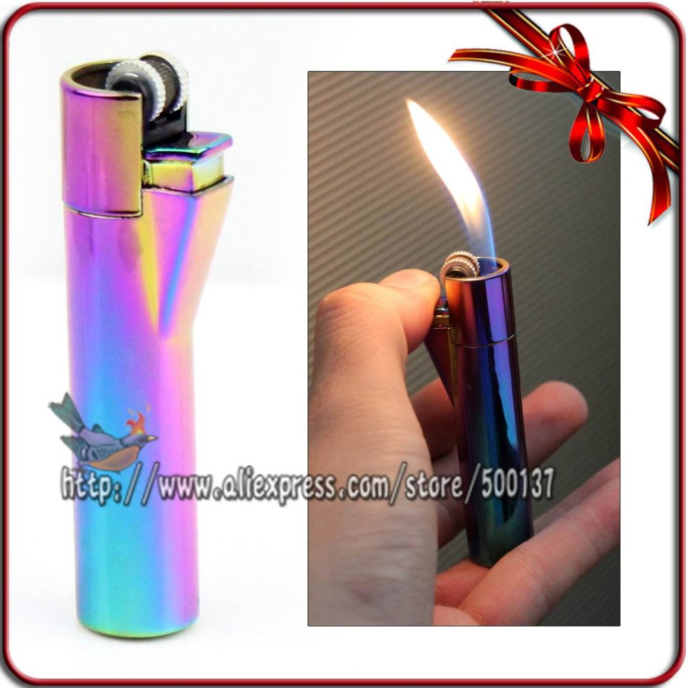 DOLPHINE  Design Metal  color Cigar Cigarette Butane Gas Refillable Lighter BC4424