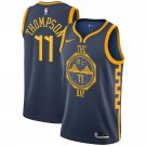 2019 Men's Golden State Warriors #11 Klay Thompson Basketball Jersey -City Edition