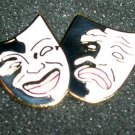 Comedy & Tragedy Pin