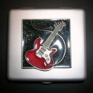Pill Case - Large- Guitar Theme