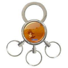 Net-Steals new 3 Ring Key Chain 'BB8'