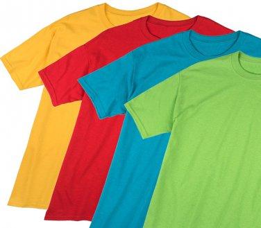 Lot of 12 pcs Plain Shirts (Asorted Colors) plus 1 FREE