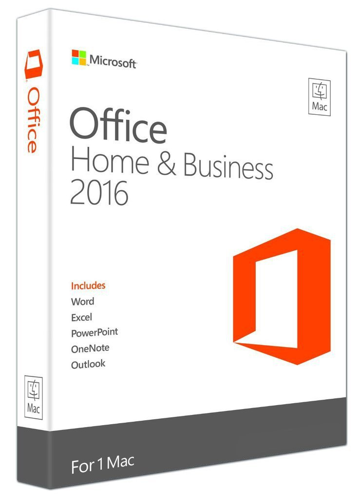 Microsoft Office Mac 2016 Home and Business - Full Version