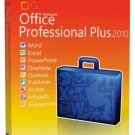 Microsoft Office 2010 Professional Plus - Full Version