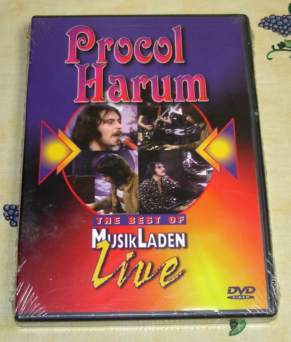 Procol Harum The Best Of MusikLaden Live DVD