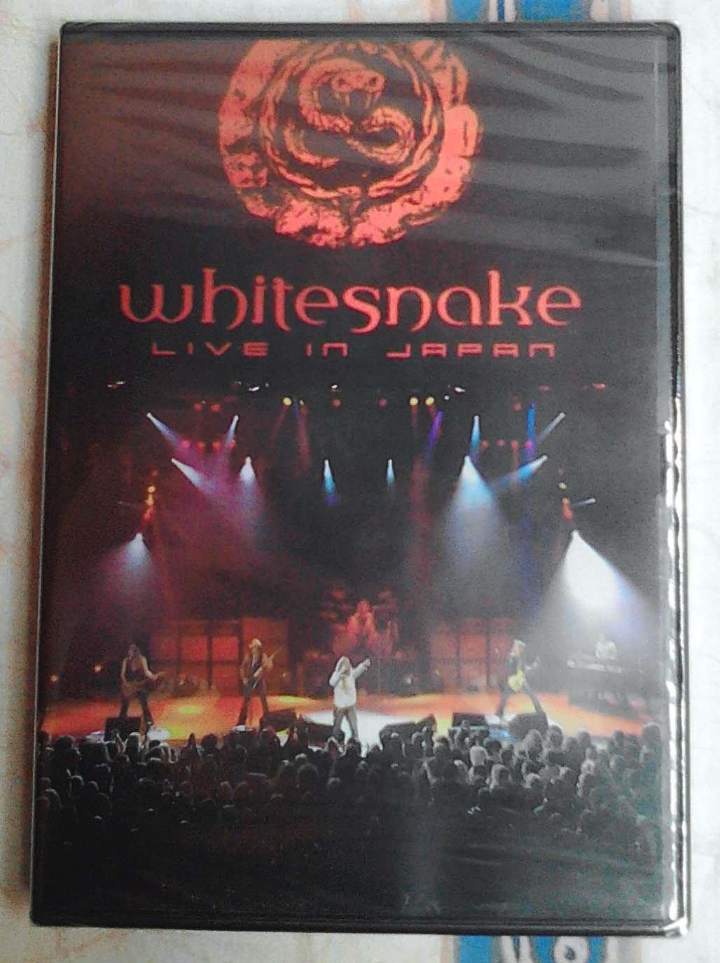 Whitesnake Live In Japan DVD