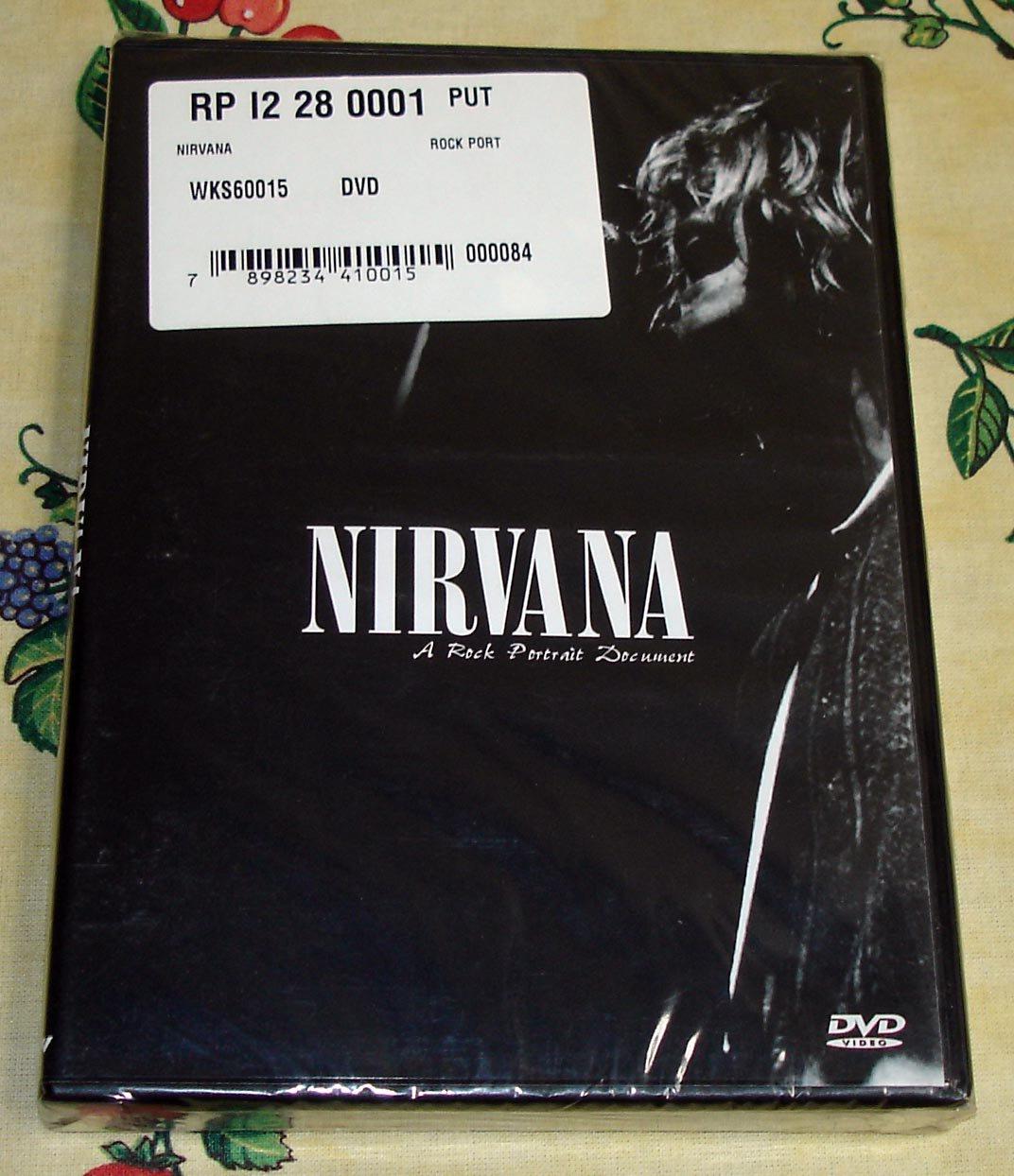 Nirvana A Rock Portrait Document DVD