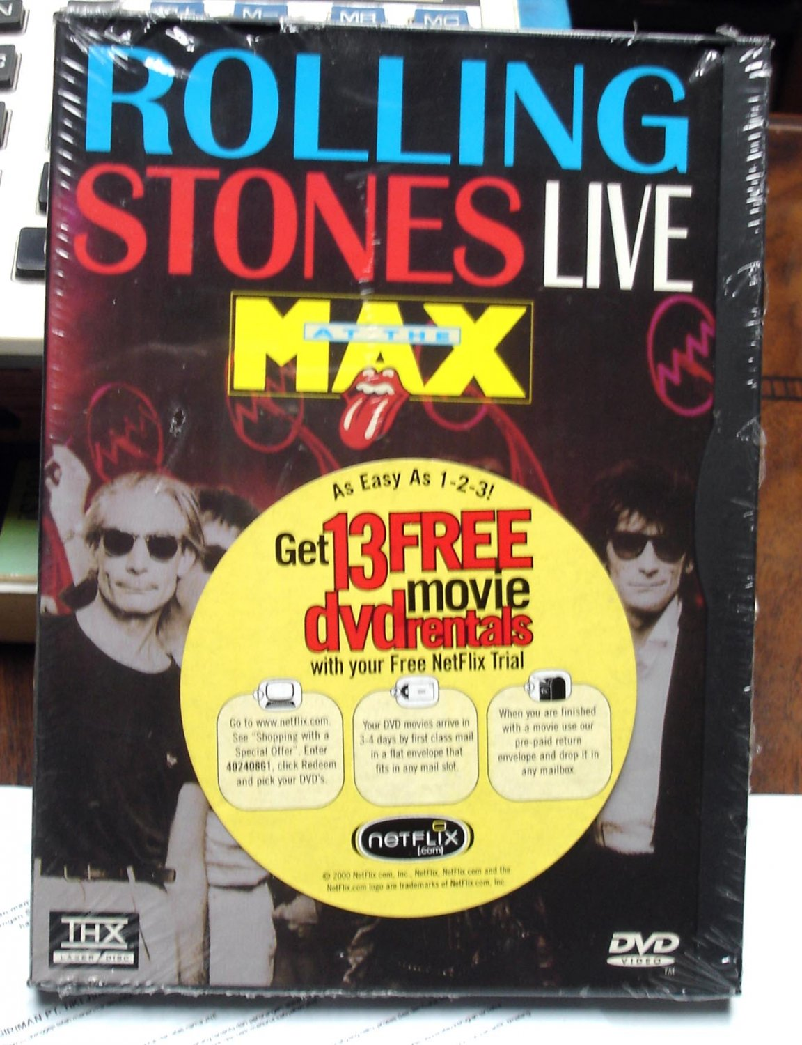 The Rolling Stones Live At The Max DVD