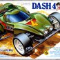 Dash - 4 Cannonball Golden Body Tamiya Mini Racing 4-WD Made In Japan 1990