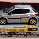 Peugeot 207 Hatchback 5 Doors Uni-Fortune Toys Die Cast Miniature Scale 1/32