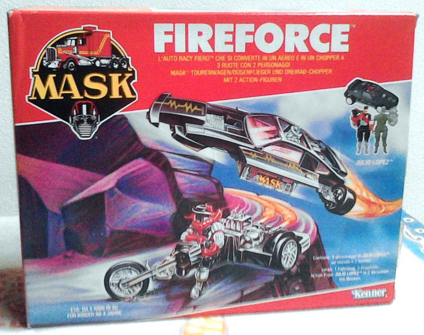 Fireforce Mobile Armored Strike Kommand MASK Kenner M.A.S.K. Split Seconds
