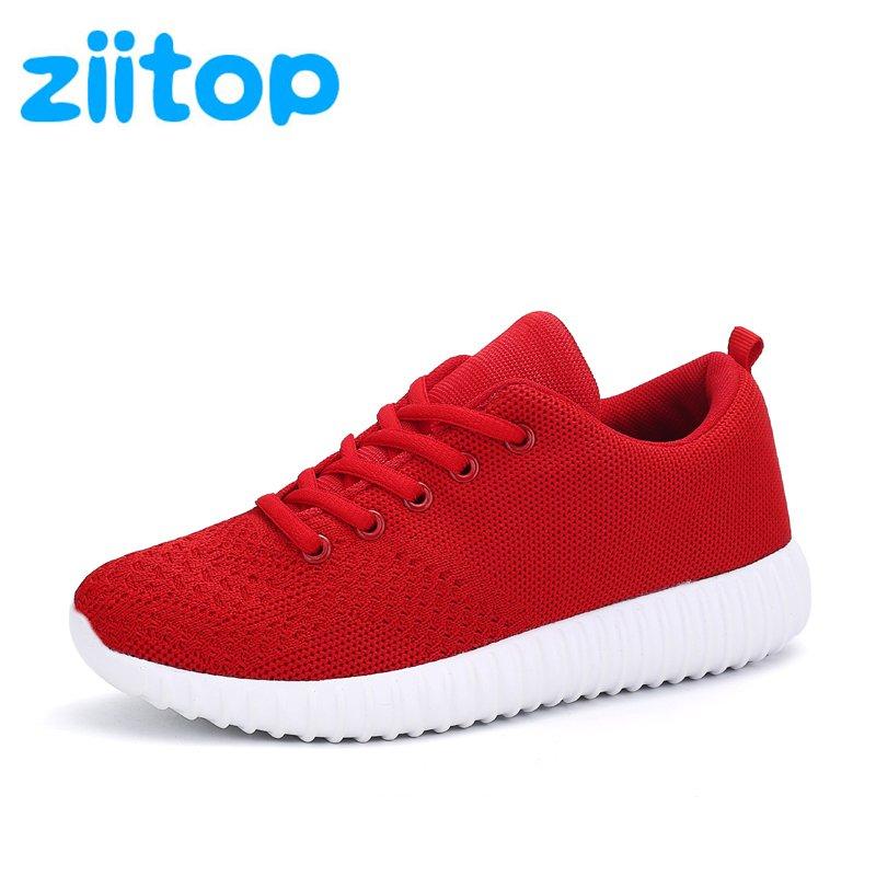 Womens Light Comfortable Outdoor Walking Sneakers (Size 6.5)