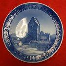 "1950 Royal Copenhagen Christmas Plate ""Boeslunde Church"""