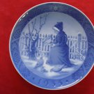 "1955 ROYAL COPENHAGEN RC CHRISTMAS PLATE  "" FANO GIRL """