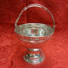Vintage Sweet Meat Sterling Basket or Bowl with Handle by D&H Dominick & Haff