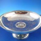 Sterling Silver Pedestal Bowl with Medallion Center & Engraved Bowl