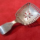 ENGLISH STERLING TEA CADDY SPOON 1814 BIRMINGHAM (#2285)