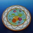 Box with One (1) Siesta Island by Hermes of Paris France Porcelain Dessert Plate
