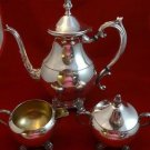 3 Piece Silverplate Coffee Set by F.B. Rogers Silver Co