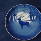 1960 Royal Copenhagen RC Christmas Plate Stag
