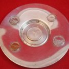 Antique Silver Dish / Plate with Canadian Coins 1867-1967