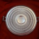 Silverplate Pierced bowl with Handles Made by Wilcox