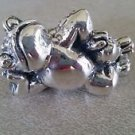Sterling Silver 925 Lounging Frog Figurine  (#276)