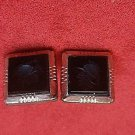 Gold Filled Pair of Intaglio Carnelian Cufflinks  (#409)