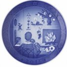 New 2015 Royal Copenhagen RC Christmas Plate - New in Box -   FREE SHIPPING