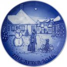 2016 Bing & Grondahl  B&G Christmas Plate   New in Box   Free Ship