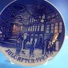"1993 Bing & Grondahl Danish B&G Christmas Plate ""Father Christmas in Copenhagen"""