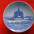 "1955  BING & GRONDAHL B&G CHRISTMAS PLATE  "" KALUNDBORG CHURCH """