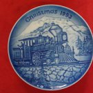 1993 BING & GRONDAHL CHRISTMAS IN AMERICA PLATE COMING HOME FOR CHRISTMAS