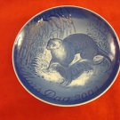 """2004 Bing & Grondahl Mother's Day Plate """"Otter & Young"""""""