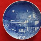 1992 BING & GRONDAHL CHRISTMAS IN AMERICA PLATE IN SAN FRANCISCO ( CABLE CAR )