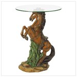 NEW! Majestic Stallion Accent Table