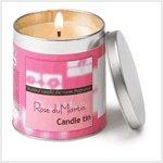 NEW! Rose Du Martin Candle Tin