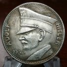 ADOLF HITLER 5RM coin 1935 WWII WW2 Nazi German Germany