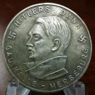 WWII WW2 Nazi German Hitler Dank medallion WHW 1933 1934 Adolf Coin