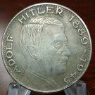 WWII WW2 Nazi German ADOLF HITLER 1889-1935 Coin Eagle Swastika