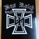 WWII WW2 Nazi German DAS REICH 2nd SS Panzer div sign