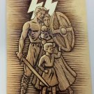 WWII WW2 Nazi German SS Aryan Family Propaganda Metal sign